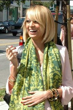 Nicole Ritchie - cute haircut!