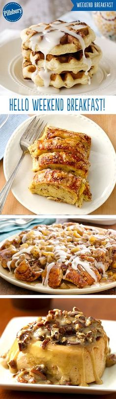 Calling all breakfast lovers! From waffles to french toast to cinnamon rolls you'll find something everyone in your family will enjoy.