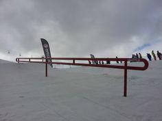Rail dello snowpark
