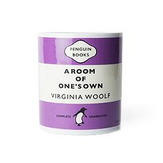 Penguin Books mug - A Room of One's Own by Virginia Woolf