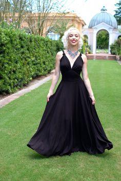 Trashy Diva Helena Dress makes its return in chic, stylish black knit!