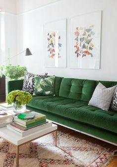 Ben jij ook verliefd op de woontrend velours? Op Woonblog lees je hoe je deze trend toepast in jouw interieur!