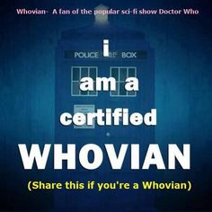 i think the definition of whovian should not be on the pic... but... :)