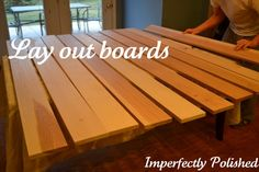 round table laying out boards