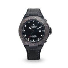 Strumento Marino Blue Ridge Gun Metal Black Diver Watch | 101.Watch Store | Birthday Gifts For Boyfriend | Birthday gifts for him | Birthday gifts ideas | Mens watches affordable | Mens fashion accessories | Valentines ideas | Valentine day gifts for him
