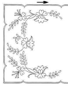 Broderie D'Antan: Embroidery Patterns (11 designs)