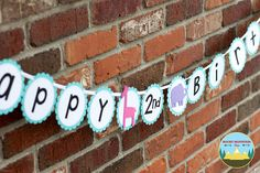 Zoo Banner, Zoo Party Banner, Zoo Animal Birthday Banner, Party Animal Banner - Rocky Mountain Mama on Etsy