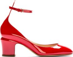 Valentino - Red Patent Tang-Go Pumps