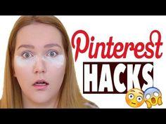 PINTEREST BEAUTY HACKS | GETESTET | Deutsch 2016 | annaxo - YouTube