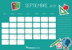 #calendario #septiembre @magicadisseny