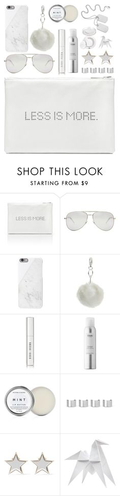 """Frozen dream"" by deeyanago ❤ liked on Polyvore featuring Yves Saint Laurent, Native Union, Miss Selfridge, Bobbi Brown Cosmetics, Maison Margiela, Givenchy, Hermès, Estée Lauder, accessories and fashiontrend"