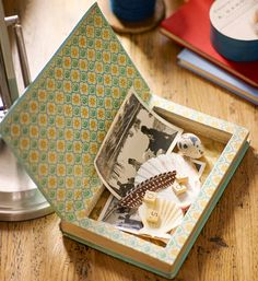 How to make a book treasure box - Better Homes and Gardens - Yahoo New Zealand