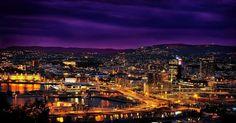 Oslo by night.