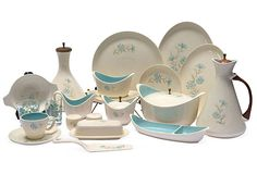 1950's Buttoneer tableware by Taylor Smith Taylor