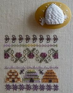 Beekeeper's Cottage embroidery stitch