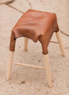 Leather Furniture By Tortie Hoare. Leather StoolLeather ...