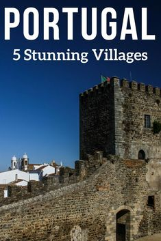 Portugal Travel - Discover in photos 5 of the most charming villages in Portugal: Obidos, Marvao, Monsaraz, Monsanto and Mertola. Located on hilltops they offer crazy structures or inspiring views... Have a look!         | Portugal things to do | Portugal Travel Guide | Portugal Itinerary | Portugal Photography