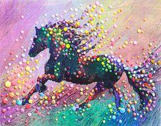 energy artist julia watkins | The Energy Art Store By Julia Watkins — Spirit Horse II - Find the ...
