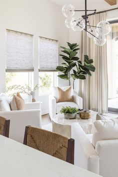Home Living Room, Living Room Designs, Living Room Decor, Living Spaces, Beige Living Rooms, Dining Room, Home Interior Design, Interior Decorating, Palm Springs Interior Design