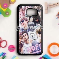 Ashton Irwin 5 Seconds Of Summer Samsung Galaxy S6 Edge Case | armeyla.com
