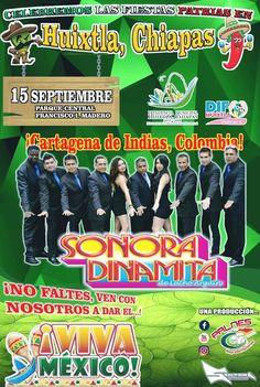 #Principales Confirman la llegada de la sonora dinamita en el grito del 15 de septiembre. http://noticiasdechiapas.com.mx/nota.php?id=88760 …