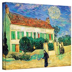 ''The White House at Night'' by Vincent Van Gogh Painting Print on Canvas