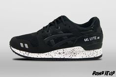 Asics Gel Lyte III NS (Black/Black) For Men Sizes: 40.5 to 45.5 EUR Price: CHF 165.- ‪#‎Asics‬ ‪#‎GelLyte‬ ‪#‎GelLyteIII‬ ‪#‎GelLyteIIINS‬ ‪#‎GL3‬ ‪#‎Sneakers‬ ‪#‎SneakersAddict‬ ‪#‎PompItUp‬ ‪#‎PompItUpShop‬ ‪#‎PompItUpCommunity‬ ‪#‎Switzerland‬ Casual Sneakers, Casual Shoes, Baskets, Asics Gel Lyte Iii, Chf, Switzerland, Black, Fashion, Tennis