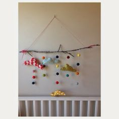 Tunes and Spoons: felt mobile