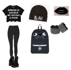 """""""Untitled #1442"""" by blackveilbrides1233 ❤ liked on Polyvore featuring Topshop, Volcom, Adela Romero, women's clothing, women, female, woman, misses and juniors"""