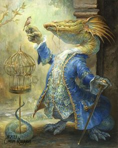 """The Dragon and the Nightingale"" by Omar Rayyan"