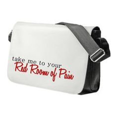 Fifty Shades Of Grey Take Me To Your Red Room Shoulder Bag