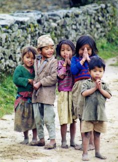 Children greeted me with Namaste and took me to their home. Nepal ©& Meg N. Kids Around The World, People Around The World, Precious Children, Beautiful Children, Beautiful Babies, Little People, Little Ones, Beautiful World, Beautiful People