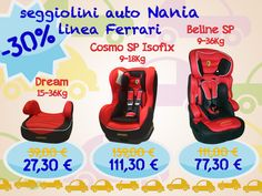 Baby car seats discounted by 30%!!