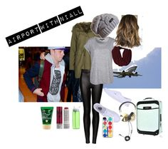 No. 230 {Airport With Niall} by emmurray-md on Polyvore featuring Topshop, Vans, River Island, Zero Gravity, Frends, The Body Shop, Korres and CamelBak