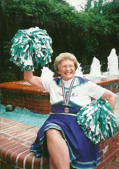 active senior citizens   above hattie stutts in 2007 when her cheerleading team won the gold ...