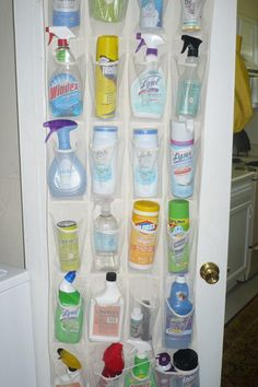 Diy: Shoe Organizer's Many Uses!