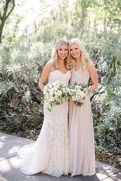Bridal Hair And Makeup Al Fresco Ojai California Wedding Featured On Style Me Pretty