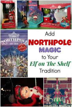 Add Hallmark Northpole Magic to Your Elf on the Shelf Tradition this year. Check out what our Elves do and how they plan to up their game. #NorthpoleFun #shop