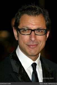 Jeff Goldblum... a very handsome man! He makes me laugh!