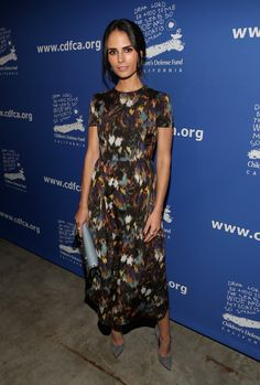 Actress Jordana Brewster wearing Valentino attends Children's Defense Fund - California Hosts 24th Annual Beat The Odds Awards at Book Bindery on December 4, 2014 in Culver City, California.