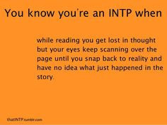Myers-Briggs Personality INTP/INFP