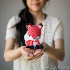 Ravelry: Finnley the Fox pattern by Stephanie Jessica Lau   Crochet, Learn It. Love It