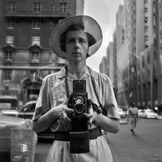 Saw this yesterday at the Stephen Bulgar Gallery.Amazing show! I love her!  Vivian Maier Self-portrait