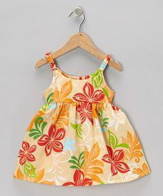 Too Cute Clothing Store For Girls Girls Zulili Orange Plumeria