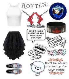 """""""Untitled #2863"""" by llamapoop ❤ liked on Polyvore featuring Vans"""