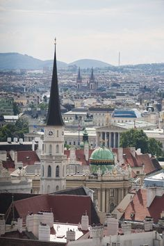 """Vienna View"" by mhodges on Flickr - Vienna, Austria:  View from Stephansdom looking out over the city."
