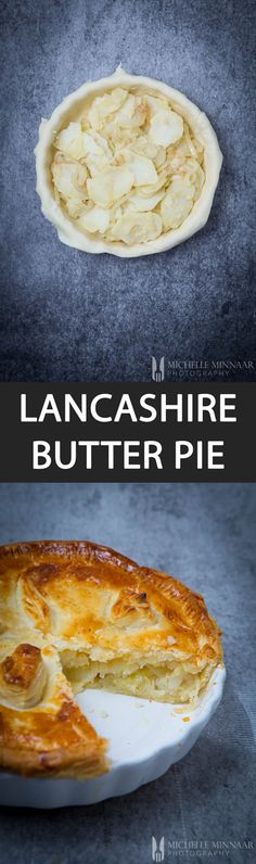 Lancashire Butter Pie - {NEW RECIPE} Lancashire Butter Pie is perfect comfort food for a cold, wet and miserable winter's day.