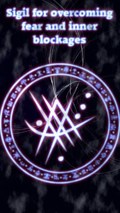 Wolf Of Antimony Occultism — Sigil for overcoming fear and inner blockages Wiccan Symbols, Magic Symbols, Symbols And Meanings, Celtic Symbols, Egyptian Symbols, Ancient Symbols, Magick Spells, Witchcraft, Wiccan Spell Book