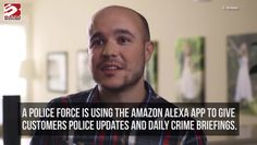 Alexa gives police updates
