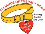 About the Alliance of Therapy Dogs     Our Mission We are a volunteer organization of dedicated therapy dog handlers and their dogs on a mission of sharing smiles and joy. ATD's goal is to provide registration, support, and insurance for members who are involved in volunteer animal-assisted activities. These activities include,